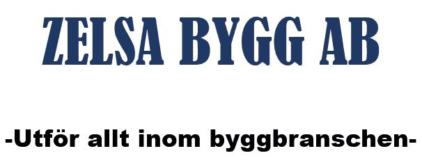 Logotyp för ZELSA Bygg och Konsult Entreprenör AB