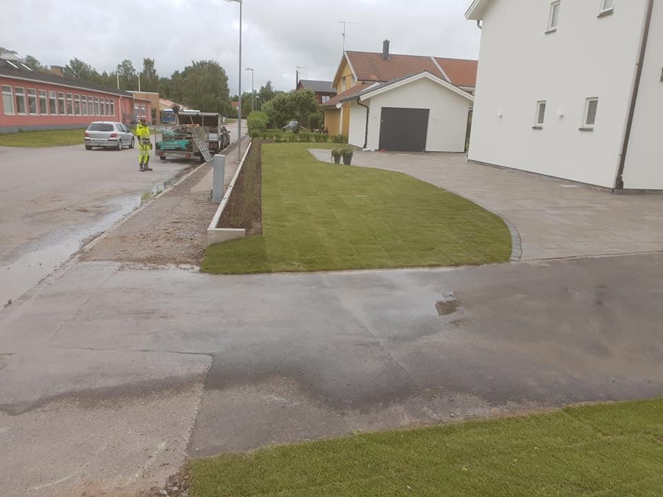 """Referensjobb """"Anläggningsarbete"""" utfört av Grenestams Mark och Trädgård"""