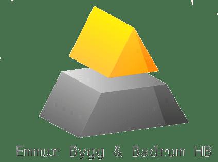 Logotyp för Emmur Bygg & Badrum HB