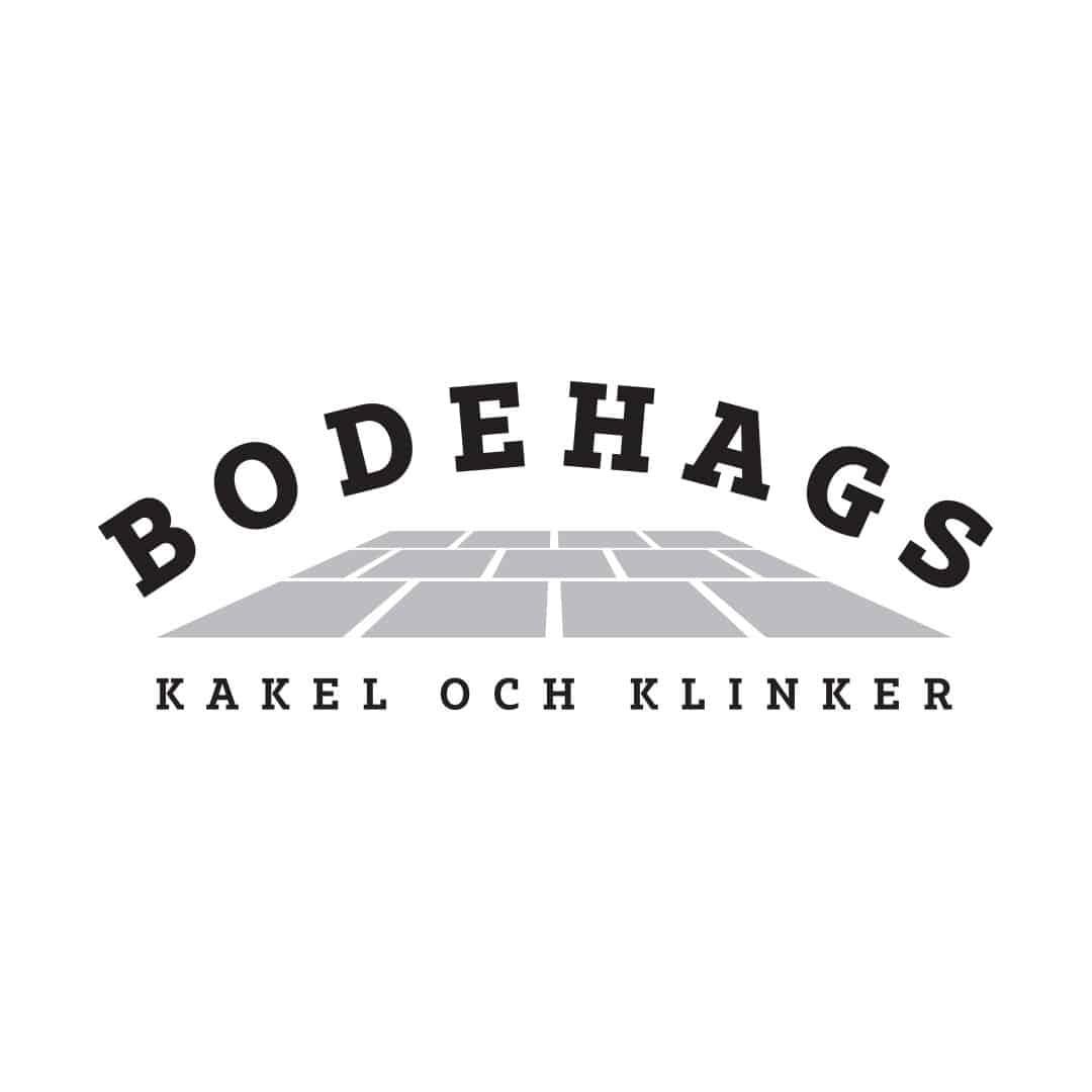 Logotyp för Bodehags kakel och klinker