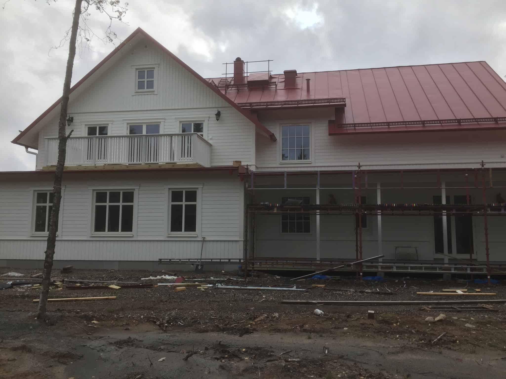 """Referensjobb """"Största husbygget """" utfört av Byggfirma Hans Johansson i Borås"""