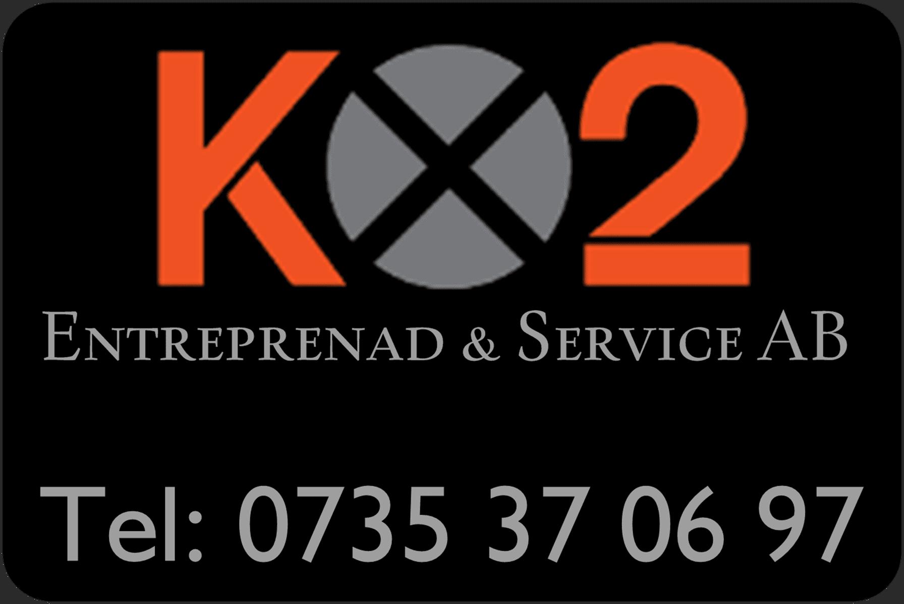 Logotyp för Kx2 Entreprenad & Service AB