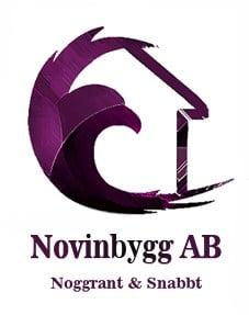 Logotyp för Novinbygg AB