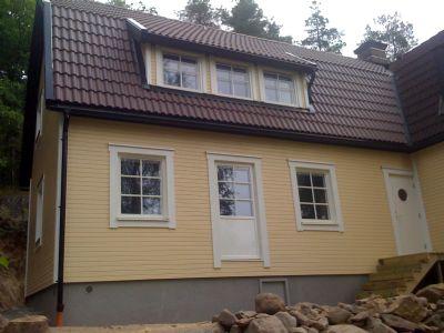 """Referensjobb """"Tillbyggnad äldre hus"""" utfört av Ziges Bygg AB"""
