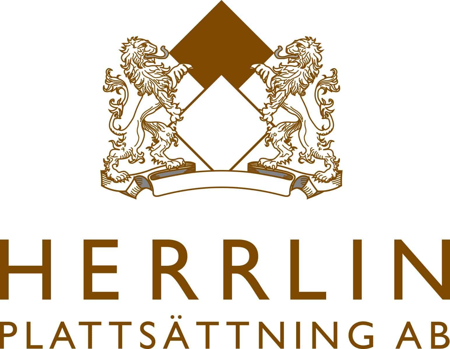Logotyp för Herrlin Plattsättning AB