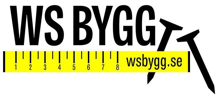 Logotyp för WS-BYGG