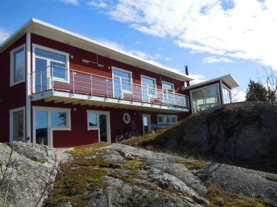 """Referensjobb """"Villa på¨Värmdö"""" utfört av Lars Öste Akitektkontor"""