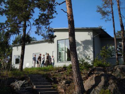"""Referensjobb """"Villa i Nacka"""" utfört av Lars Öste Akitektkontor"""