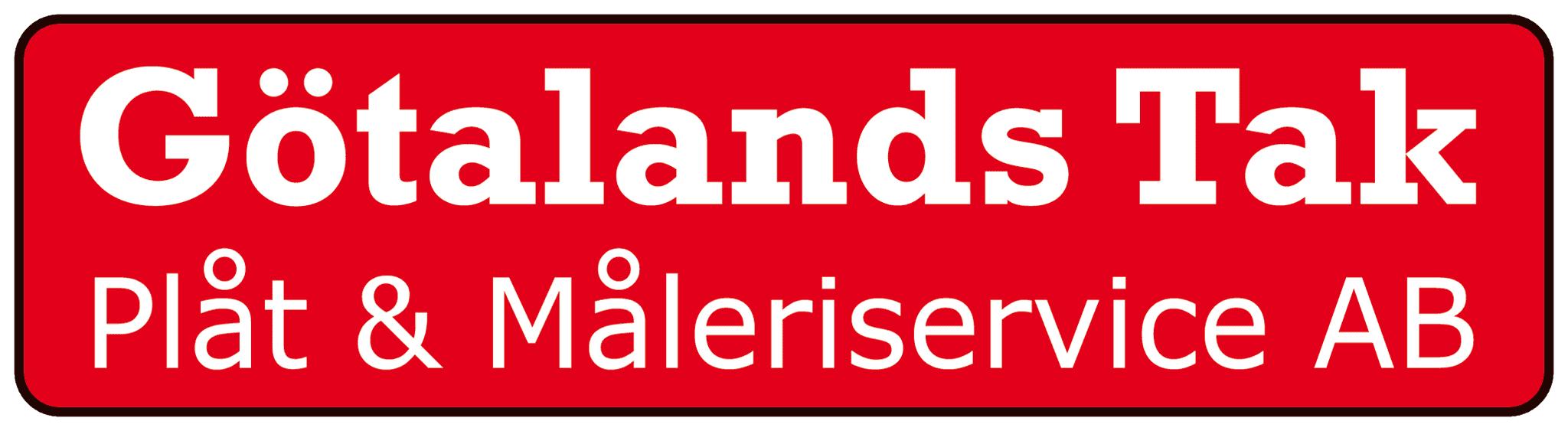 Logotyp för Götalands Tak, Plåt & Måleriservice AB
