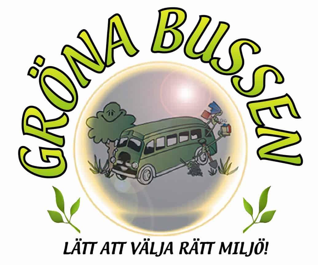 Logotyp för Gröna Bussen AB