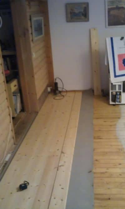 """Referensjobb """"golvläggning"""" utfört av Montan`s byggtjänst"""
