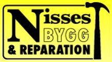 Logotyp för Nisses Bygg & Reparation AB